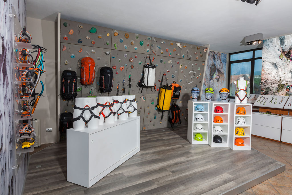 Outdoor Magazine presents Climbing Technology's new showroom