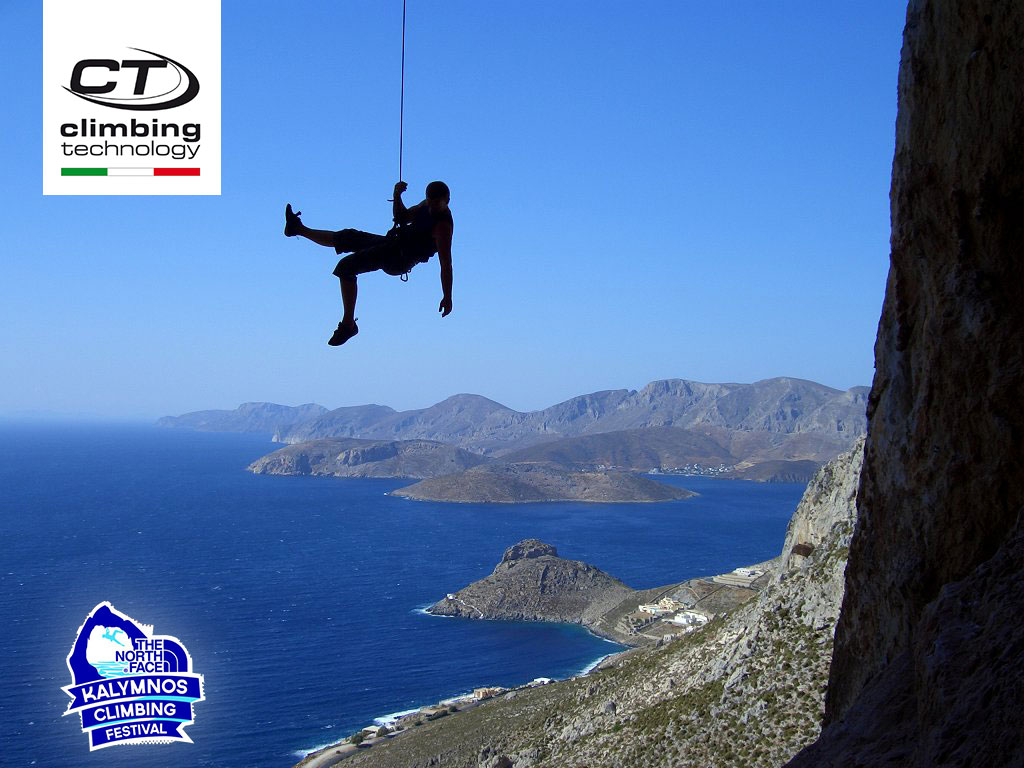 Climbing Technology is the exclusive technical partner of The North Face Kalymnos Climbing Festival