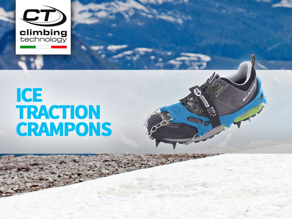 Ice Traction: multipurpose anti-slip crampons