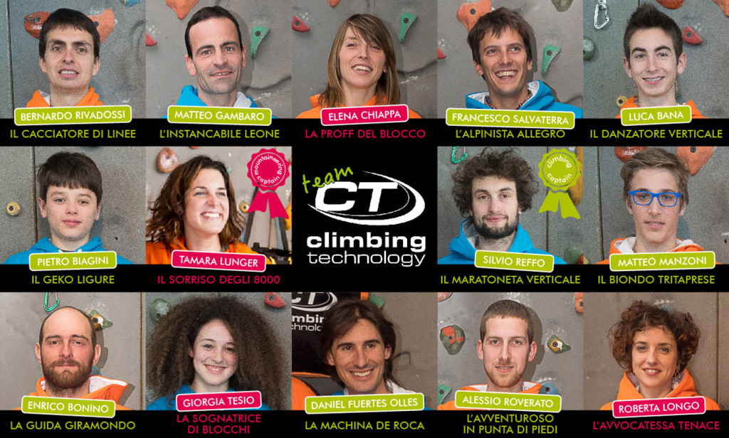 Climbing Technology presents: the Team CT