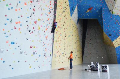 Due amici di Climbing Technology: Alberto Benchimol e Silvia Parente