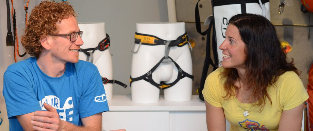 Tamara Lunger si racconta in casa Climbing Technology