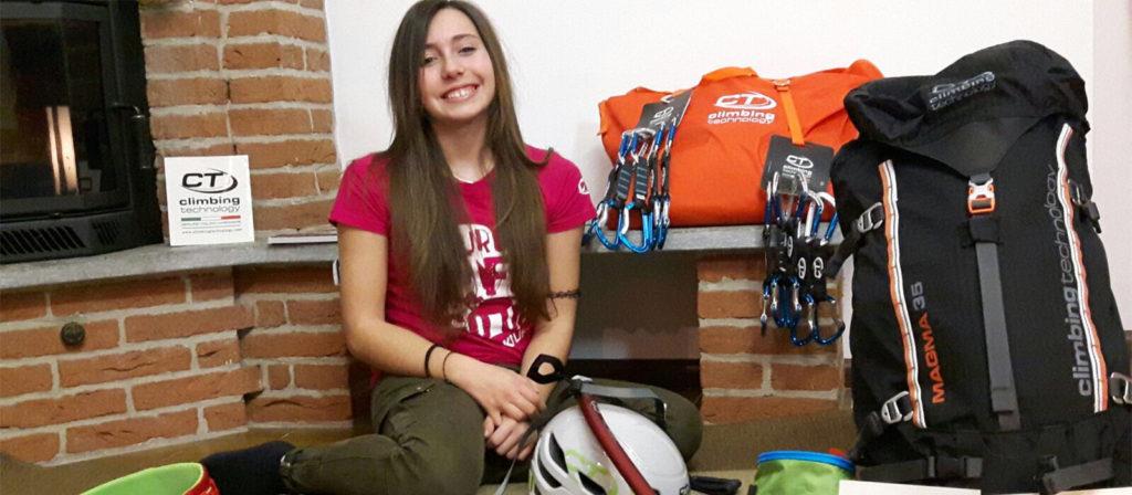 Il Team Ct si allarga: benvenuta a Giorgia Cavalli, tredici anni e grinta da vendere