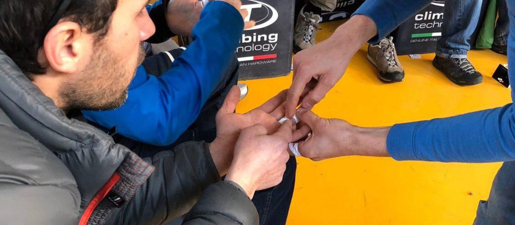Nastratura delle dita: Silvio Reffo consiglia quando usare il tape