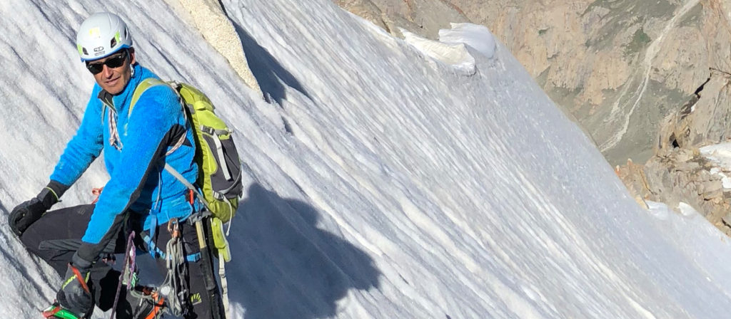 Water World, new route by Maurizio Giordani on the unclimbed Kiris Peak, in Pakistan