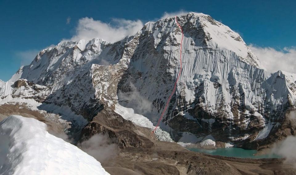 """A first ascent above 7000 meters by Zdeněk """"Hacek"""" Hák"""
