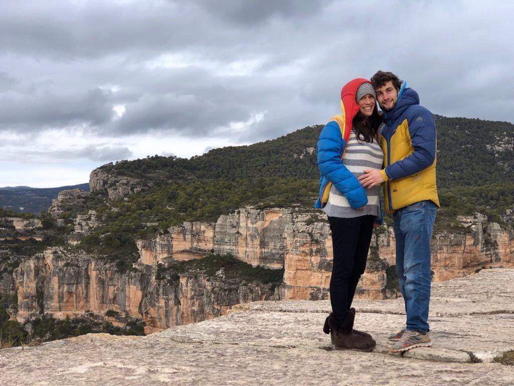 Gravidanza nei climber, l'esperienza della Reffo family